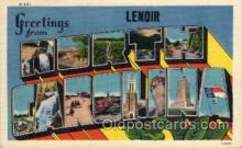 LLT100697 - North Carolina Large Letter Town Towns Post Cards Postcards