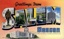 LLT100699 - Salem, Oregon Large Letter Town Towns Post Cards Postcards