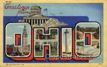 LLT100724 - Ohio Large Letter Town Towns Post Cards Postcards
