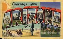 LLT100732 - Arizona Large Letter Town Towns Post Cards Postcards