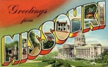 LLT100733 - Missouri Large Letter Town Towns Post Cards Postcards