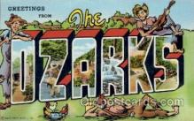LLT100742 - The Ozarks Large Letter Town Towns Post Cards Postcards