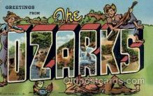 LLT100749 - The Ozarks Large Letter Town Towns Post Cards Postcards