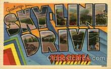LLT100789 - Skyline Drive, Virginia Large Letter Town Towns Post Cards Postcards