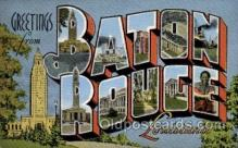 LLT100791 - Baton Rouge, Louisiana Large Letter Town Towns Post Cards Postcards