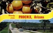 LLT100834 - Pheonix, Arizona Large Letter Town Towns Post Cards Postcards