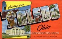 LLT100835 - Toledo, Ohio Large Letter Town Towns Post Cards Postcards