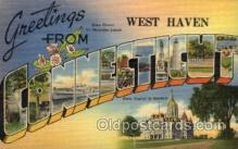 LLT100858 - Danielson, Connecticut Large Letter Town Towns Post Cards Postcards