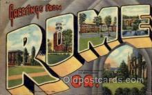 LLT100894 - Rome, Georgia Large Letter Town Towns Post Cards Postcards
