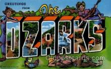 LLT100900 - The Ozarks Large Letter Town Towns Post Cards Postcards