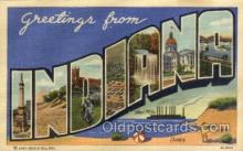LLT100910 - Indiana Large Letter Town Towns Post Cards Postcards