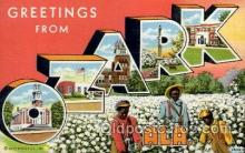 LLT100918 - Ozark, Alabama Large Letter Town Towns Post Cards Postcards