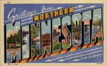 LLT100931 - Northern Minnesota Large Letter Town Towns Post Cards Postcards