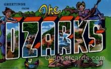 LLT100934 - The Ozarks Large Letter Town Towns Post Cards Postcards