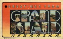 LLT100941 - Grand Island, Nebraska Large Letter Town Towns Post Cards Postcards