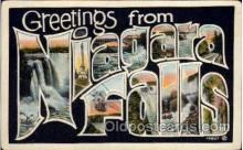 LLT100987 - Niagara Falls Large Letter Town Towns Post Cards Postcards