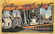 LLT100996 - Salem, Oregon Large Letter Town Towns Post Cards Postcards