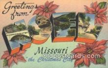 LLT200171 - Noel, Missouri, USA Large Letter Town Postcard Post Card Old Vintage Antique