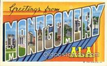 Montgomery, AL, USA Postcard Post Card