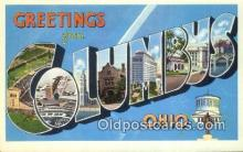 Columbus, Ohio, USA Postcard Post Card