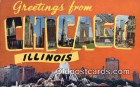 Chicago, Illinois, USA Postcard Post Card