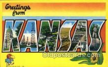 Kansas, USA Postcard Post Card