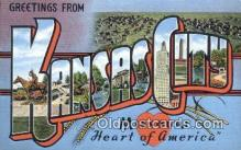 Kansas City, Missouri, USA Postcard Post Card