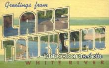 LLT200279 - Lake Taneycomo, MO, USA Large Letter Town Postcard Post Card Old Vintage Antique
