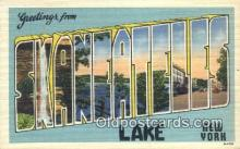 Skaneateles Lake, NY, USA Postcard Post Card