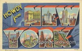 New York, USA Postcard Post Card