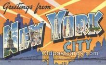New York City, USA Postcard Post Card