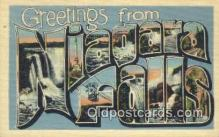 LLT200321 - Niagara Falls, NY, USA Large Letter Town Postcard Post Card Old Vintage Antique