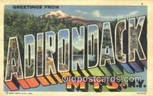 Adirondack Mts, NY, USA Postcard Post Card