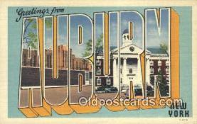 LLT200344 - Auburn, New York, USA Large Letter Town Postcard Post Card Old Vintage Antique