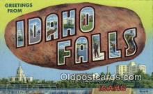 Idaho Falls, Idaho, USA Postcard Post Card