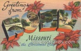 LLT200475 - Noel, Missouri, USA Large Letter Town Postcard Post Card Old Vintage Antique