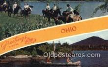 LLT200489 - Ohio, USA Large Letter Town Postcard Post Card Old Vintage Antique