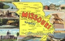 LLT200511 - Missouri, USA Large Letter Town Postcard Post Card Old Vintage Antique