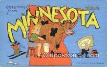 Minnesota, USA Postcard Post Card