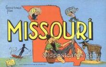 LLT200544 - Mississippi, USA Large Letter Town Postcard Post Card Old Vintage Antique