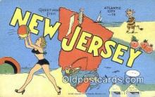 New Jersey, USA Postcard Post Card