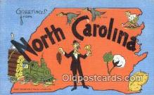 North Carolina, USA Postcard Post Card