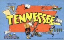 Tennessee, USA Postcard Post Card