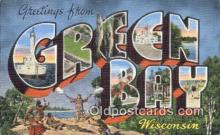 Green Bay, Wisconsin, USA Postcard Post Card