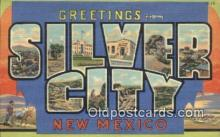 LLT200936 - Silver City, New Mexico USA Large Letter Town Vintage Postcard Old Post Card Antique Postales, Cartes, Kartpostal
