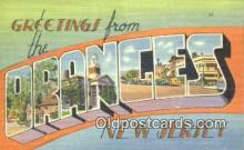LLT200955 - Oranges, New Jersey USA Large Letter Town Vintage Postcard Old Post Card Antique Postales, Cartes, Kartpostal