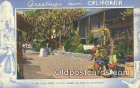LLT201372 - California USA Large Letter Town Vintage Postcard Old Post Card Antique Postales, Cartes, Kartpostal