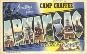 LLT201407 - Arkansas USA Large Letter Town Vintage Postcard Old Post Card Antique Postales, Cartes, Kartpostal