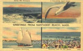 LLT201417 - Nantasket Beach, Mass USA Large Letter Town Vintage Postcard Old Post Card Antique Postales, Cartes, Kartpostal