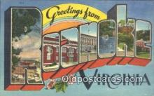 LLT201464 - Roanoke, Virginia USA Large Letter Town Vintage Postcard Old Post Card Antique Postales, Cartes, Kartpostal